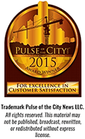2015 pulse city award winner
