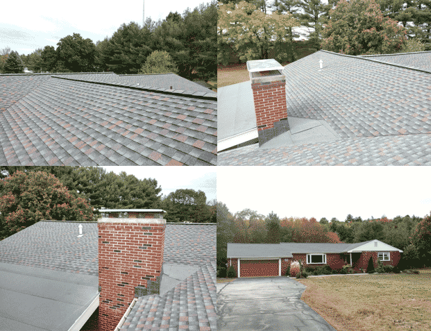 GAF Timberline HD Shingles in Williamsburg Slate Hudson MA
