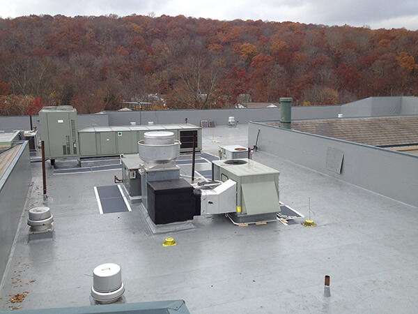commercial roof ridgefield ct