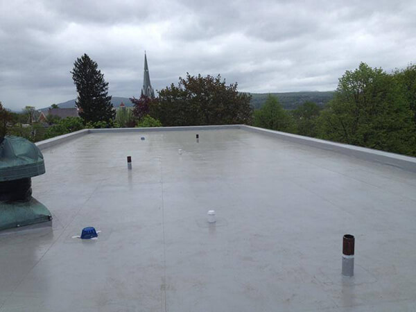 durolast roof healthcare facility vermont