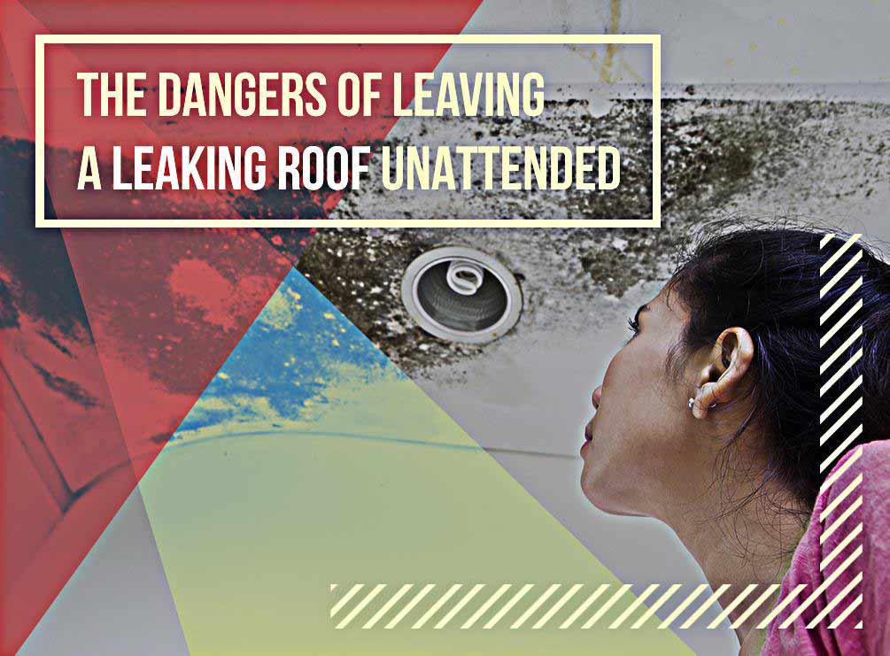The Dangers Of Leaving A Leaking Roof Unattended