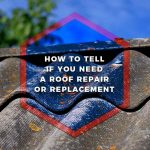 How to Tell If You Need a Roof Repair or Replacement
